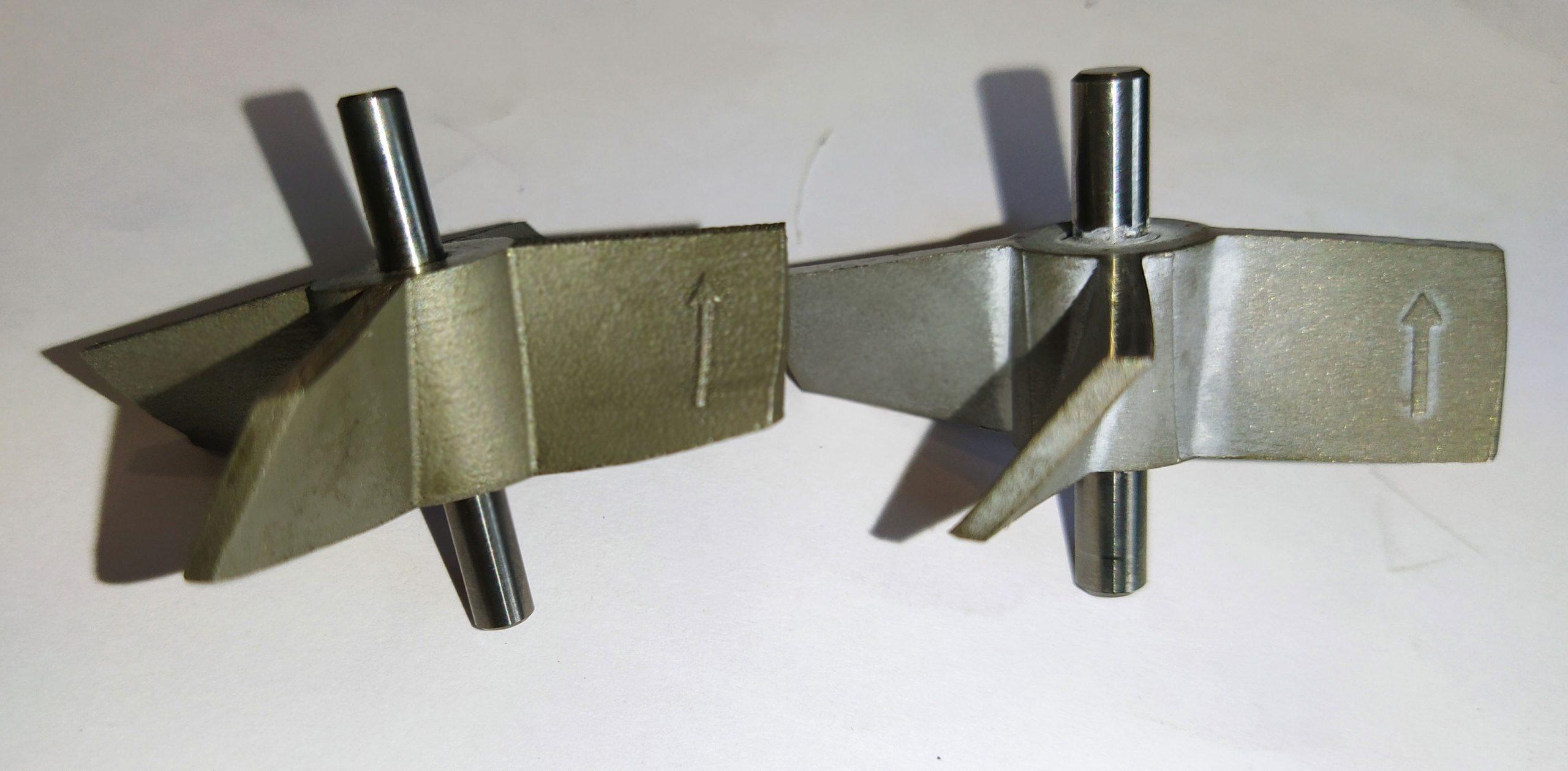 نمونه ای از قطعات ساخته شده